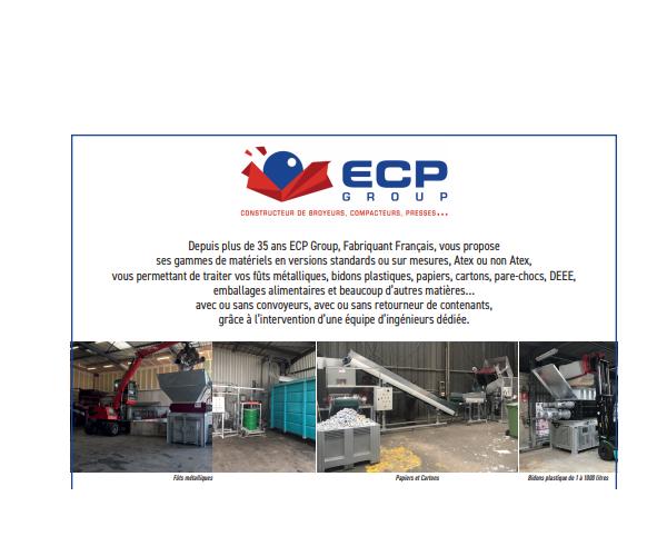 Machines - Réduction de déchets